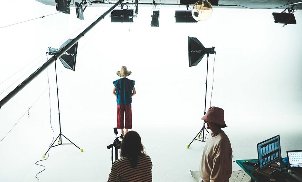 Shooting fotografico moda